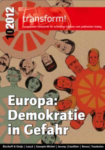 Titelbild von transform! Europäische Zeitschrift für kritisches Denken und politischen Dialog 10/2012