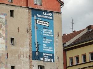 Wandbild zum terroranschlag auf die Keupstraße in Köln