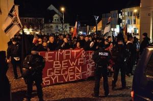 Auch 2014 und 2015 zeigten Nazis Präsenz in Bautzen. Foto von 2015: Caruso Pinguin, flickr, CC BY-NC 2.0
