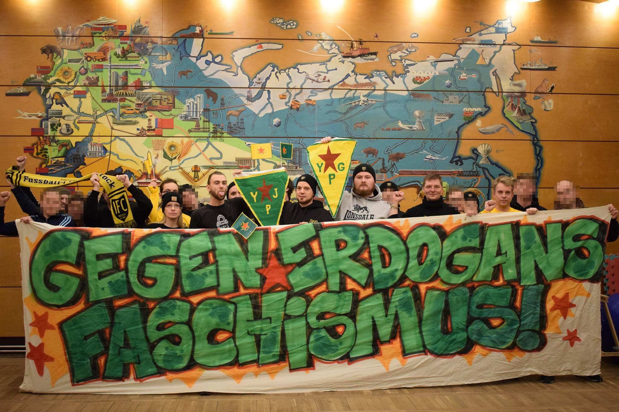 Antifaschistische YPG-Solidarität: Fußballclub im Visier des Staatsschutzes