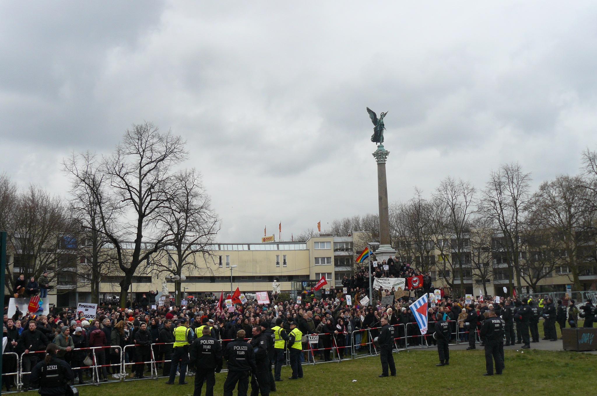 Ein guter Tag für den Feminismus: Proteste gegen AfD-Wahn in Kreuzberg