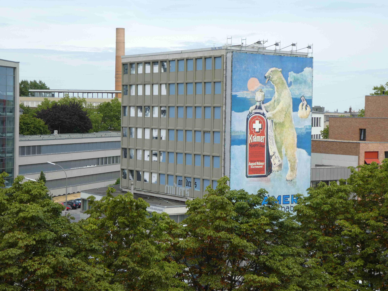 Kurt Piehl — Street Art — Geschwister Scholl Straße in Dortmund (Foto: H.Koch)
