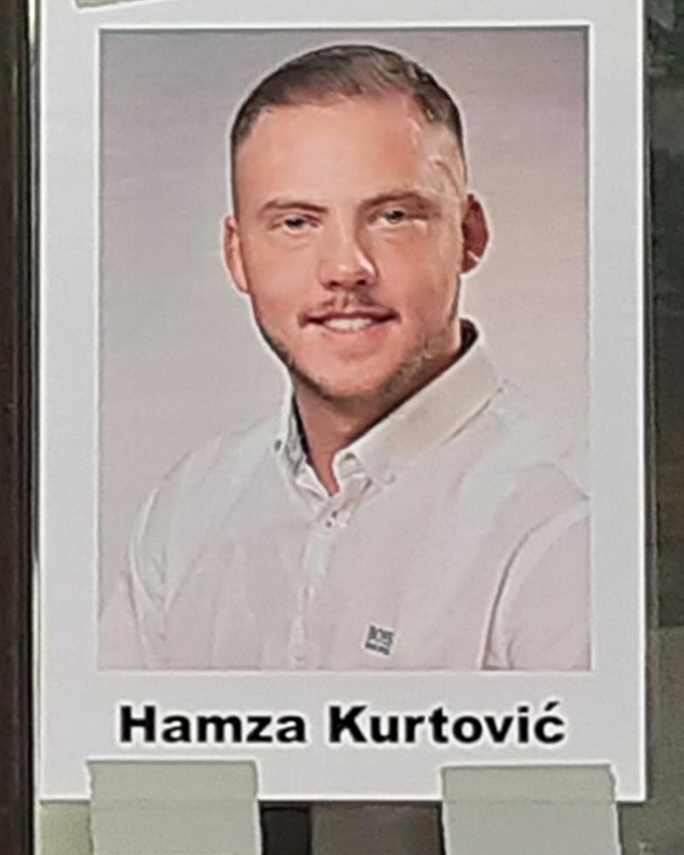 Hamza Kurtović (22 Jahre) (Foto: Heiko Koch)