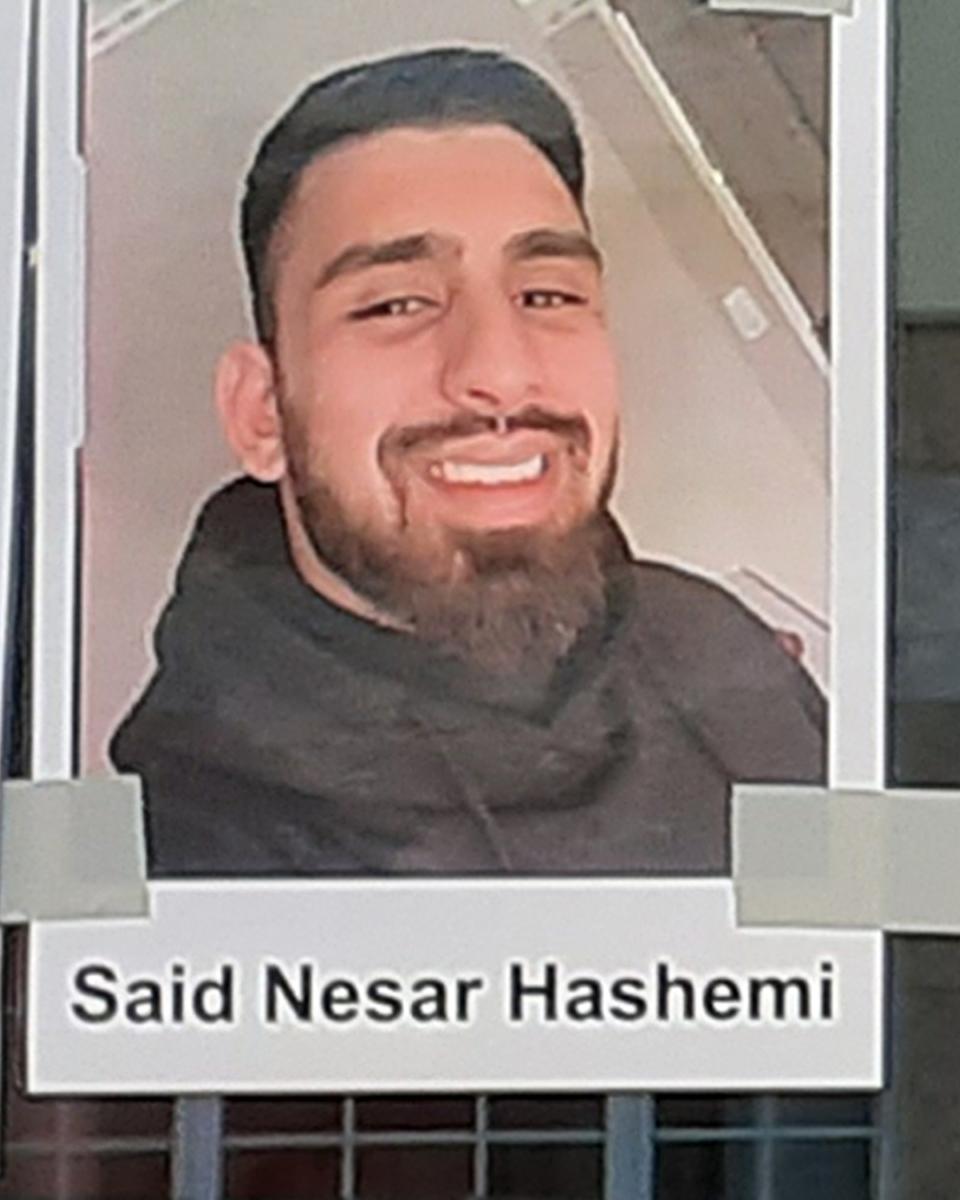 Said Nesar Hashemi (21 Jahre) (Foto: Heiko Koch)